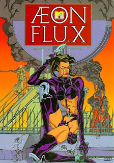Aeonfluxdvd Aeon Flux: Motion Picture & Animation  Review