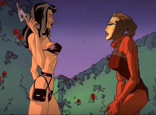 aeon flux 02 Aeon Flux: Motion Picture & Animation  Review