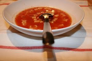 A origem da sopa vermelha