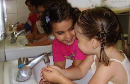 ¡A lavarse las manos!