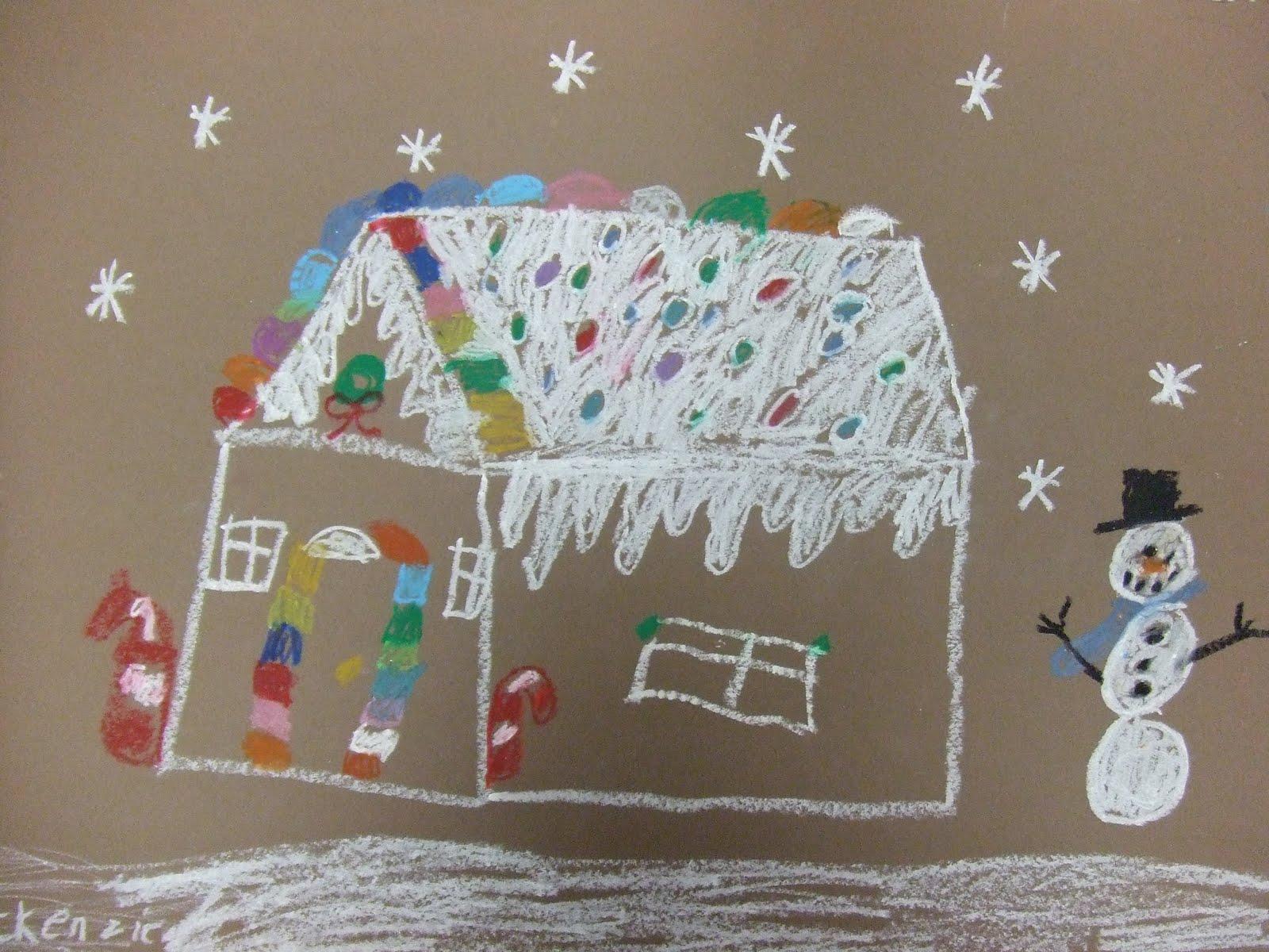 We Heart Art Ezpz Gingerbread Houses