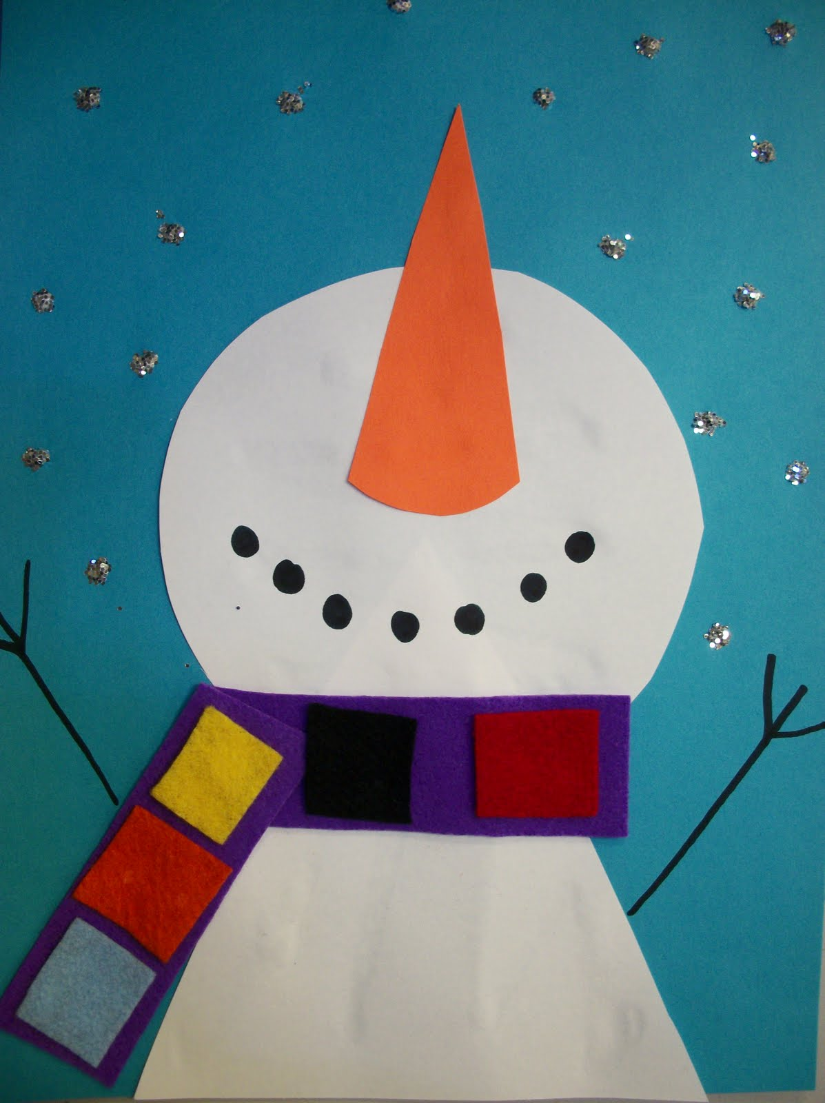 Easy Winter Kids Crafts That Anyone Can Make: We Heart Art: Are You UP For Winter?