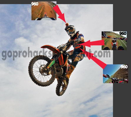 Gopro Roll Bar Mount >> GoPro HD Cameras Hacks et astuces: Angles de Vue : moto