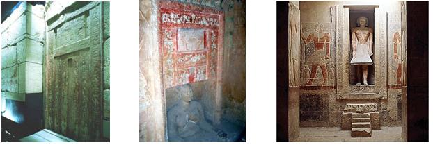 Resultado de imagen de mastabas serdab