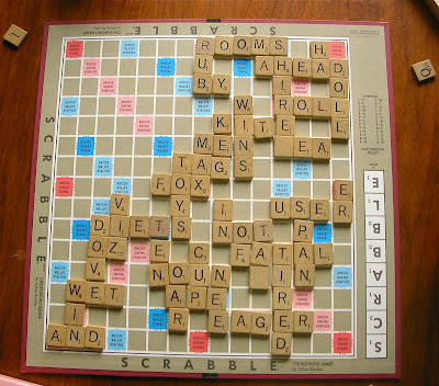 Completed Scrabble Game