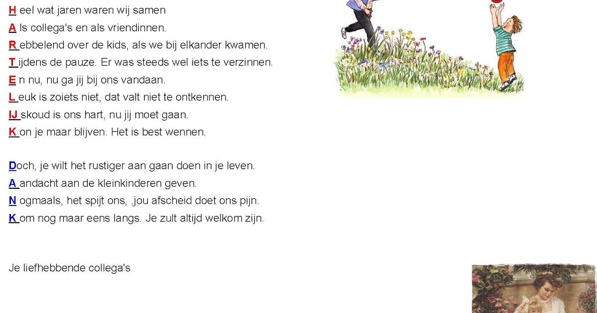 73 gedicht collega s bekijk hieronder leuke teksten met betrekking tot collegas die u op een - Geschilderde bundel ...