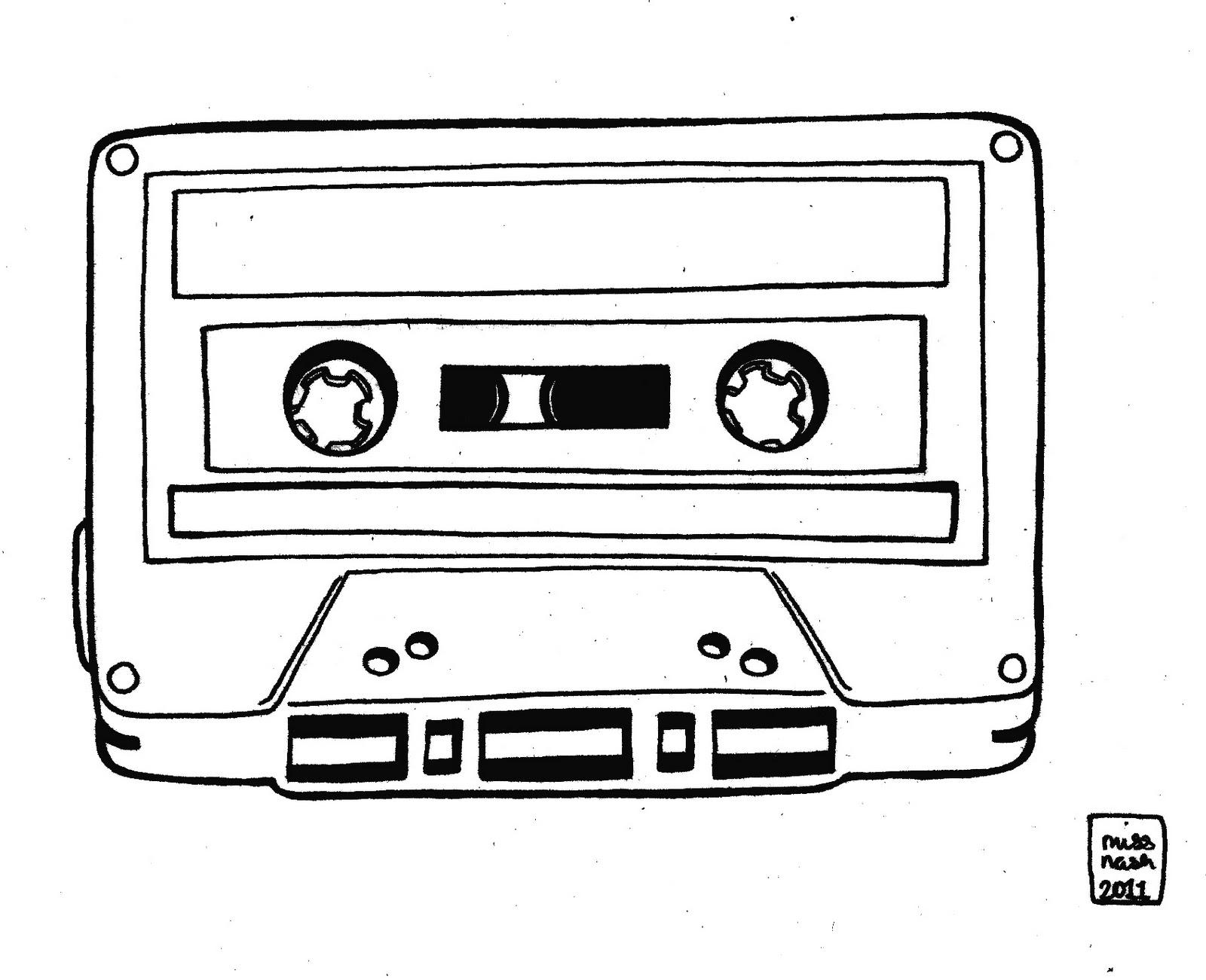 Cassette Drawing Tumblr | www.pixshark.com - Images ...