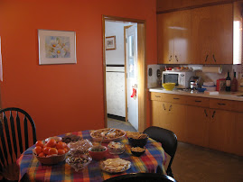 Great food and colourful kitchens