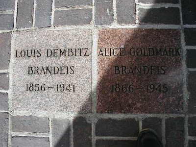 Louis and Alice Brandeis