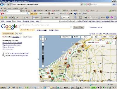 Internet Explorer 7 Google Maps