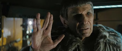 Leonard Nimoy as Old Spock - Star Trek Movie