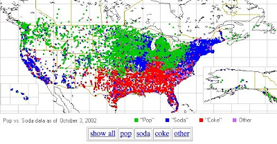 Nag On The Lake Pop Vs Soda Stats - Soda-map-of-the-us