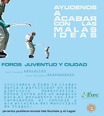 FOROS JUVENTUD Y CIUDAD
