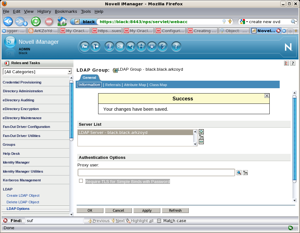 Enterprise User Security et Oracle Virtual Directory - EASYTEAM