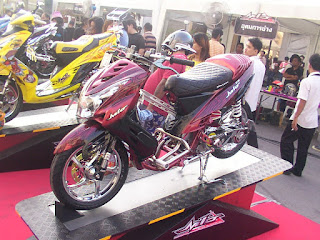 Modified Yamaha Mio from Thailand