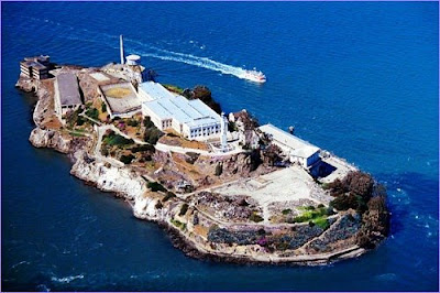 aerial photo of alcatraz island prison san francisco united states