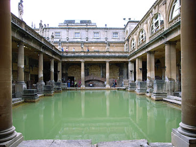 landmark photos roman baths in bath england picture