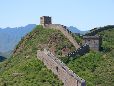 great wall of china photo so big can be seen from space