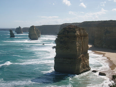 australia photos of twelve apostles rock formation on great ocean road victoria aerial picture