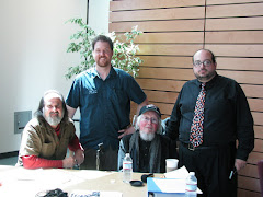 Michael Rothenberg, Jim Finley, David Meltzer, and Christopher Luna