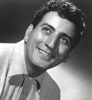 Tony Bennett in his younger days.
