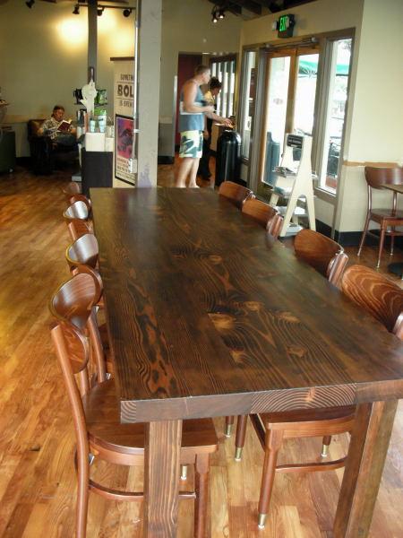 Forward Thinking Furniture Community Table Starbucks