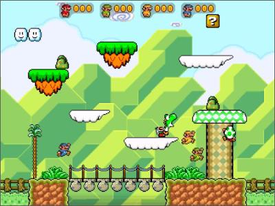 jogo Super Mario War