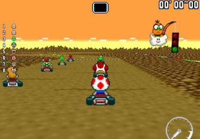 jogo New Super Mario Kart