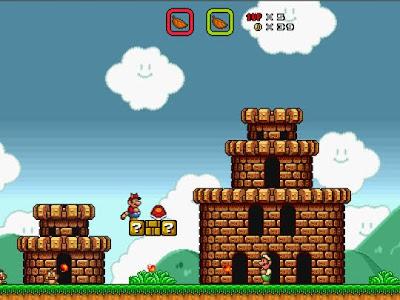 jogo Super Mario Bros X
