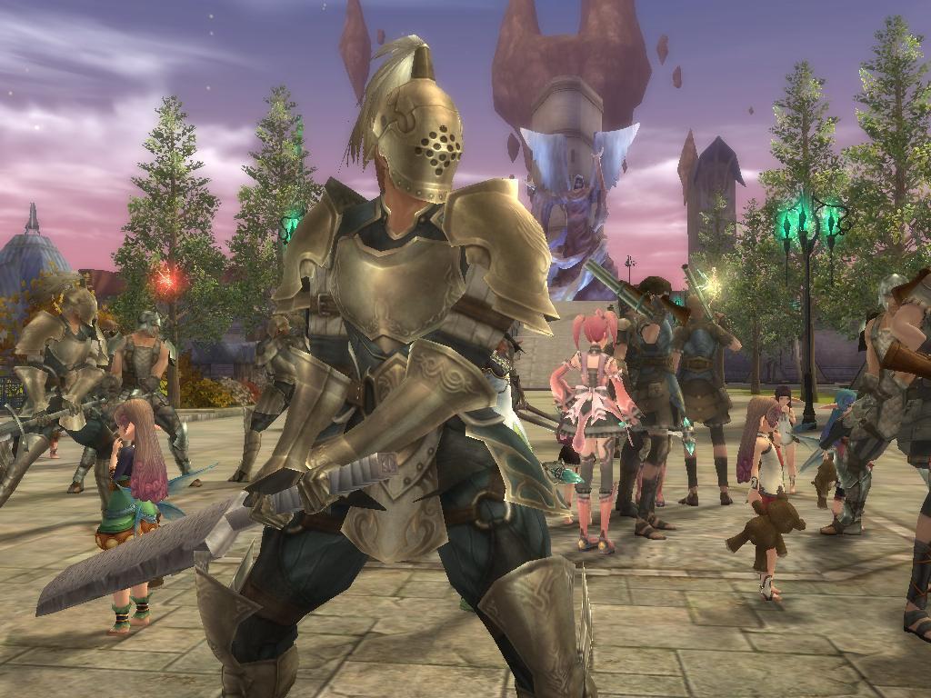 game wallpaper Aika Online