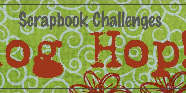 It's here!!!  BLOG HOP WITH SCRAPBOOK CHALLENGES!!!
