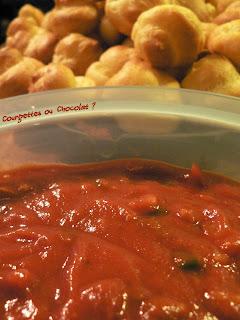 recettes entrees  Sauce salsa maison
