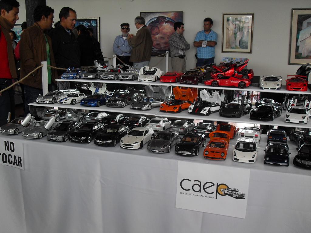 Colectomania V Exhibicion De Autos A Escala