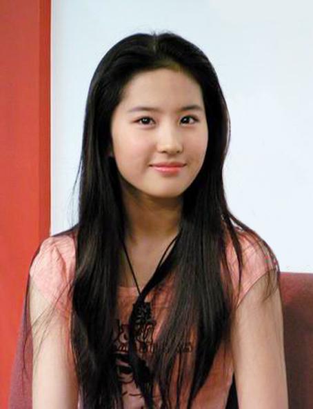 Yifei Liu: BONITA: TOP 10 HONGKONG ACTRESSES
