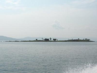 Island on lake Kivu