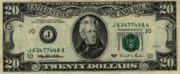 Il vecchio formato dei 20$