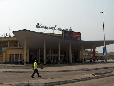 N'Djili Airport, Kinshasa