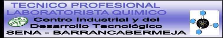TECNICO PROFESIONAL LABORATORISTA QUIMICO