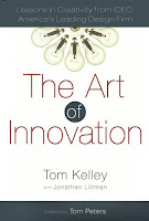 The cover of The Art of Innovation, by Tom Kelley