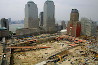 The World Trade Center disaster site