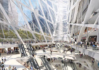 The new Lower Manhattan Rail station