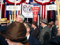 1920 crowd and campaign signs