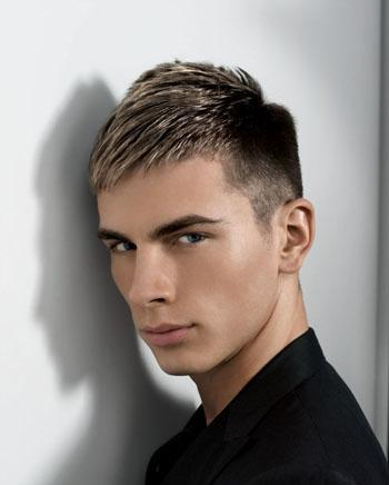 Short Hair Cuts  Guys on Cool Short Hair Styles For Men