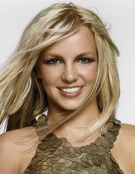 Celebrity Britney's formal updo