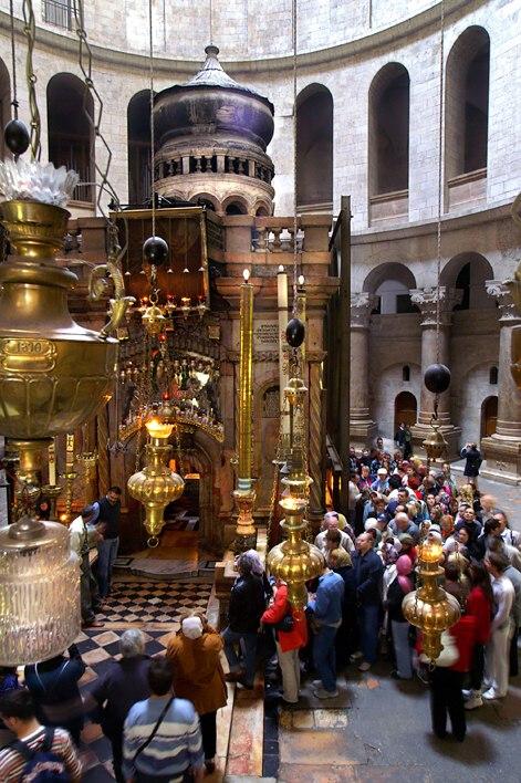 Edícula - Igreja do Santo Sepulcro, Jerusalém