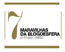 nomeação para as 7 maravilhas da blogosfera