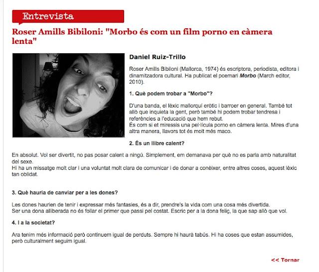 Roser Amills: entrevista a Versos.cat