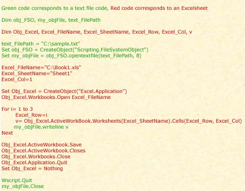 Append Data To Text File Vbscript: Software Free Download
