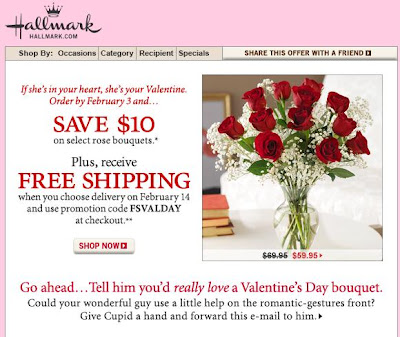 Click to view this Jan. 28, 2008 Hallmark email full-sized