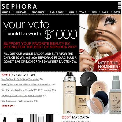 Sephora blank makeup